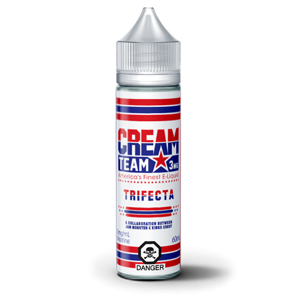 CREAM TEAM TRIFECTA E-LIQUID - 60ML