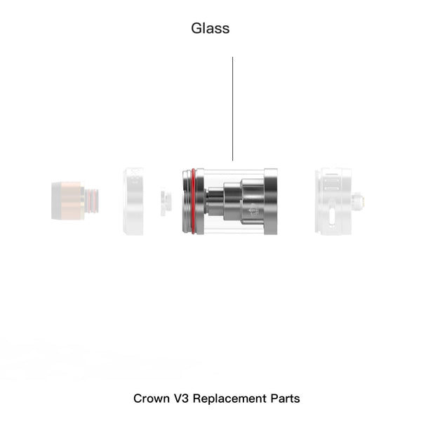CROWN 3 REPLACEMENT GLASS - 5ML