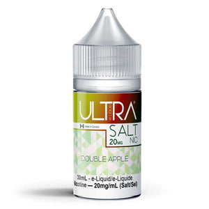 DOUBLE APPLE SALT NIC BY ULTRA - 30ML