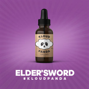 ELDER'S WORD BY KLOUD PANDA - 60ML E-LIQUID - LifestylE Cig Eliquids