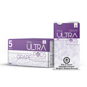 ULTRA S PODS GRAPE (STLTH COMPATIBLE) - 3 PACK