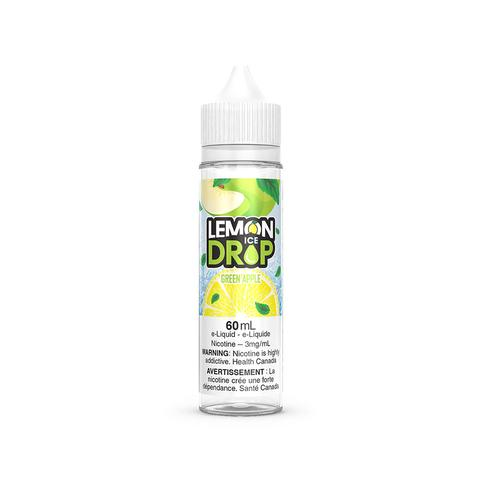GREEN APPLE ICE BY LEMON DROP E-LIQUID - 60ML