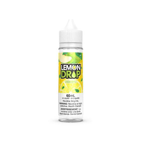 GREEN APPLE E-LIQUID BY LEMON DROP - 60ML