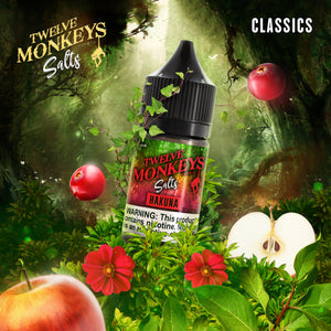 12 MONKEYS HAKUNA SALT NIC - 30ML