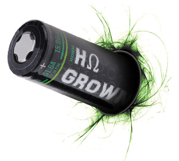 HOHM GROWN 4307 MAH 32.3A CC | 51.6A 26650 BATTERY BY HOHM TECH