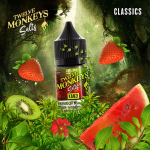 12 MONKEYS KANZI SALT NIC - 30ML