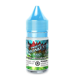 KANZI ICED BY 12 MONKEYS ICE AGE SALTS - 30ML