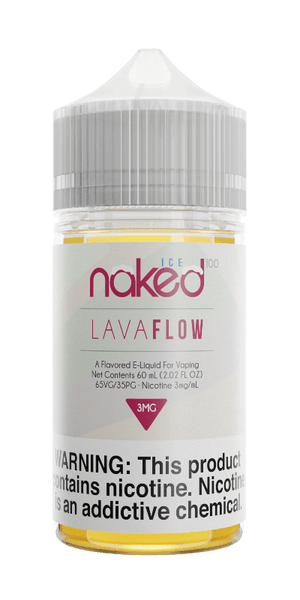 LAVA FLOW ICE E-LIQUID BY NAKED100 - 60ML