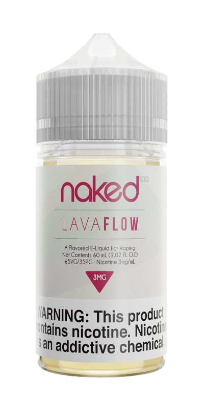 LAVA FLOW E-LIQUID BY NAKED100 - 60ML