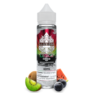 LEGION E-LIQUID BY ILLUSIONS HORIZONS SERIES - 60ML