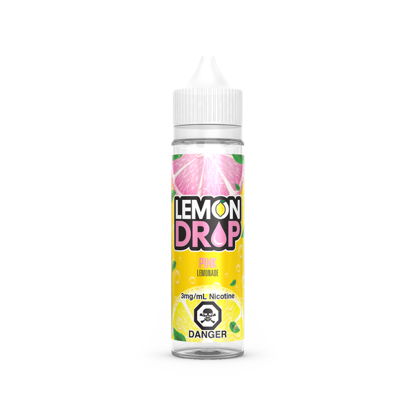 LEMON DROP - PINK LEMONADE 60ML E-LIQUID - LifestylE Cig Eliquids