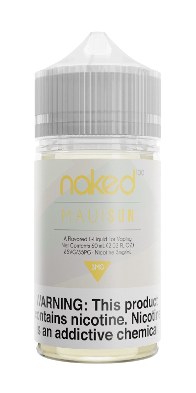 MAUI SUN E-LIQUID BY NAKED100 - 60ML