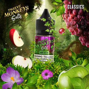 12 MONKEYS MATATA SALT NIC - 30ML