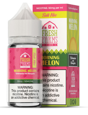 FRESH FARMS MORNING MELON SALT NIC - 30ML