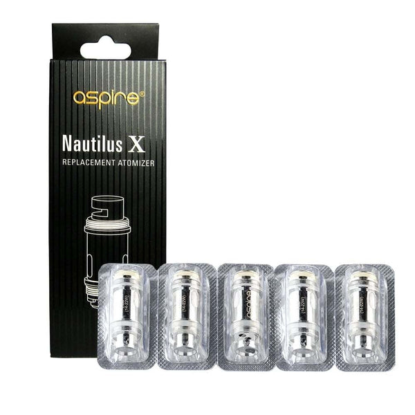 ASPIRE NAUTILUS X U-TECH REPLACEMENT COILS - 5 PACK