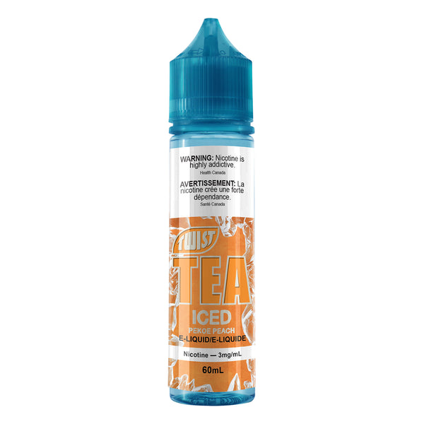 PEKOE PEACH ICED E-LIQUID BY TWIST TEA - 60ML