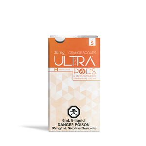 ULTRA S PODS ORANGE SCOOPS (STLTH COMPATIBLE) - 3 PACK