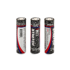 HOHM Stretch 2856mAh | 22.1A CDR | 31.6A 18650 Battery - LifestylE Cig Eliquids