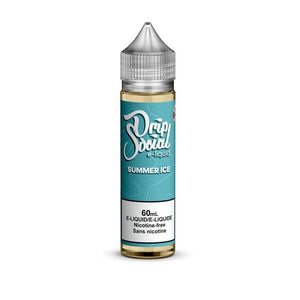 SUMMER 17 MORE ICE BY DRIP SOCIAL E-LIQUID - 60ML