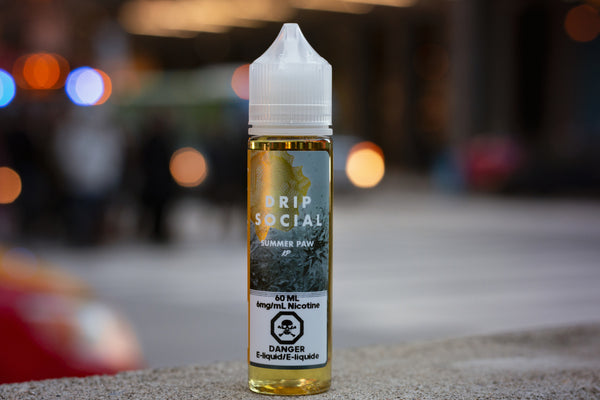 SUMMER PAW BY KLOUD PANDA - 60ML E-LIQUID - LifestylE Cig Eliquids