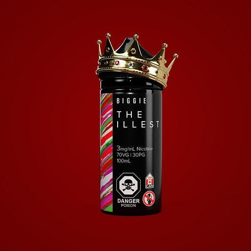 THE ILLEST E-LIQUID BY ULTIMATE VAPE LABS - 100ML