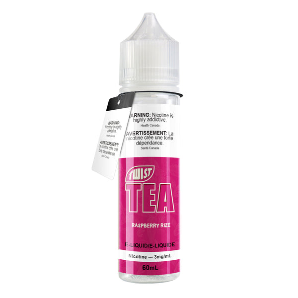 RASPBERRY RIZE E-LIQUID BY TWIST TEA - 60ML