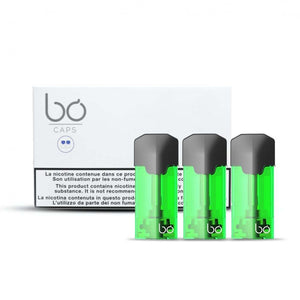 BO Caps Caribbean Breeze Eliquid 12mg - LifestylE Cig Eliquids