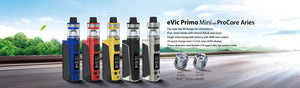 JOYETECH EVIC PRIMO MINI 80W TC STARTER KIT 18650 Battery Included - LifestylE Cig Eliquids
