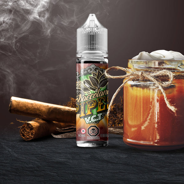 V.C.T. VANILLA CUSTARD TOBACCO SALT NIC BY VANGO VAPES - 30ML