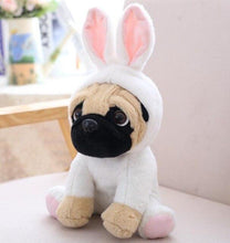 Load image into Gallery viewer, Pug plushies - with outfits - AngryShibas