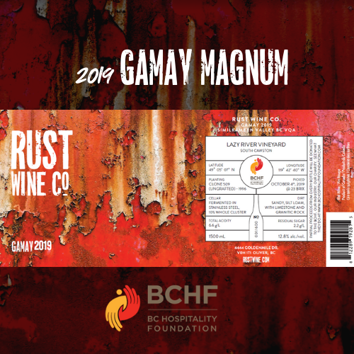 2019 Rust Wine Co. Gamay Magnum