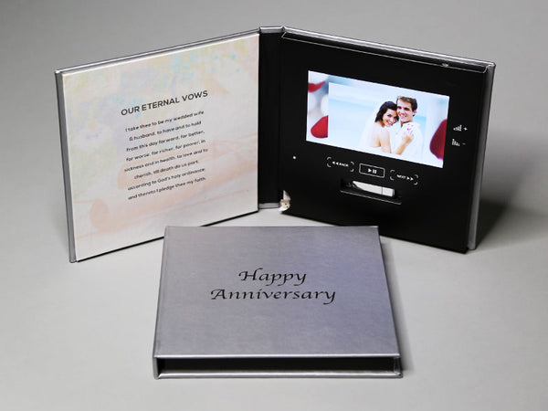Wedding Video Photo Book Silver