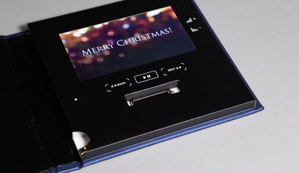 Christmas photobook with video