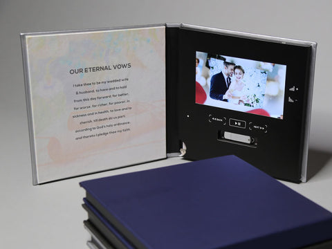 WEDDING VIDEO PHOTO BOOK WITH FREE SHIPPING