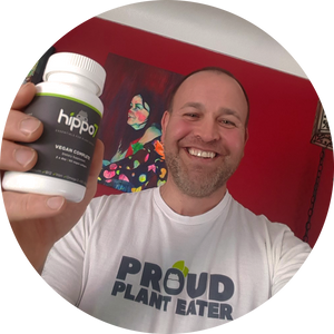"Hippo7 verified customer review. Robert reviews Vegan Complete, title ""The BEST Vegan Dietary Supplement on the Market!"""