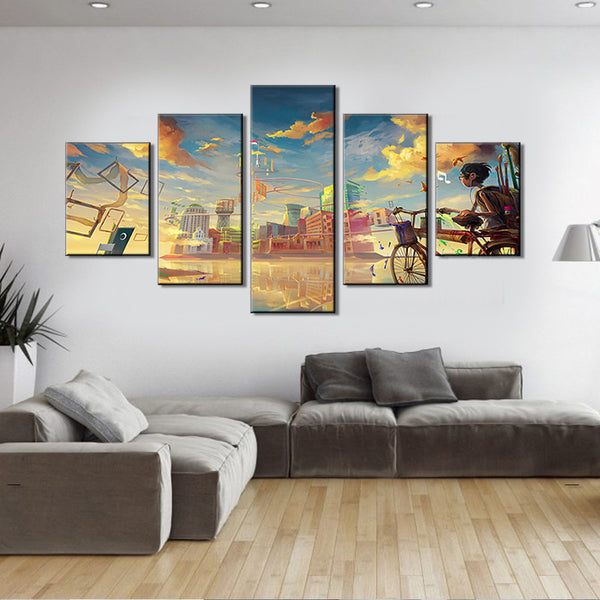 High Definition Spray Painting Canvas Home Decor