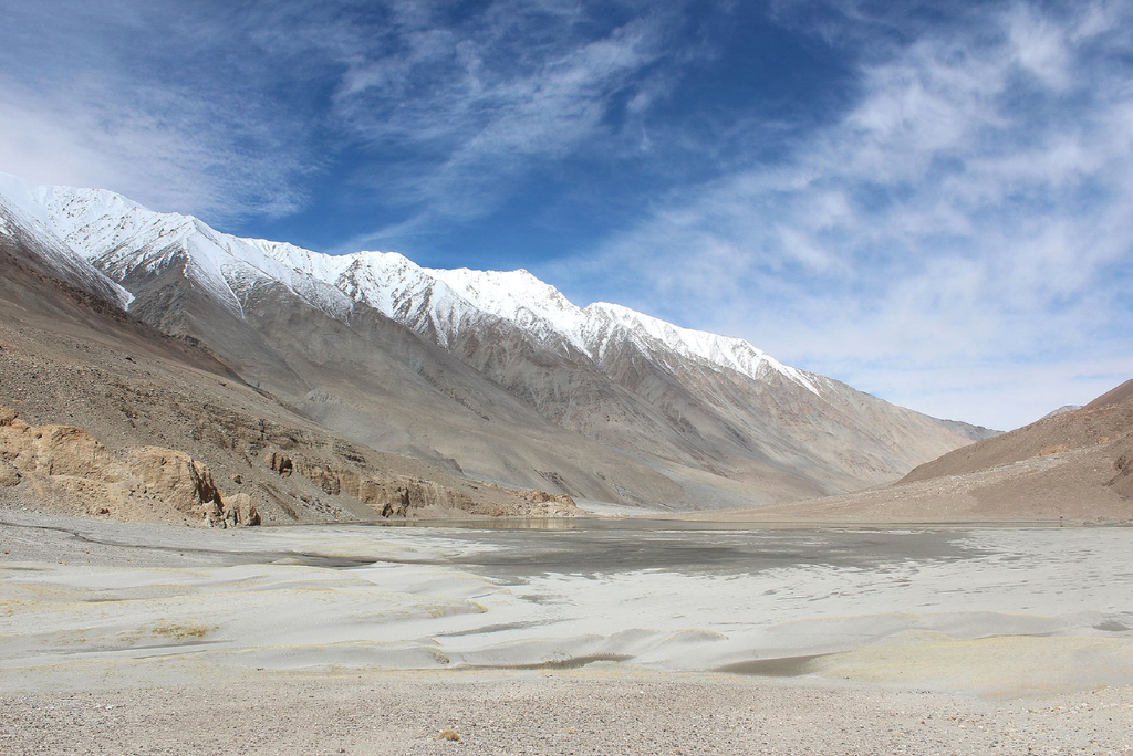 Changthang in winters