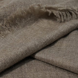 Dark Beige Natural Pashmina