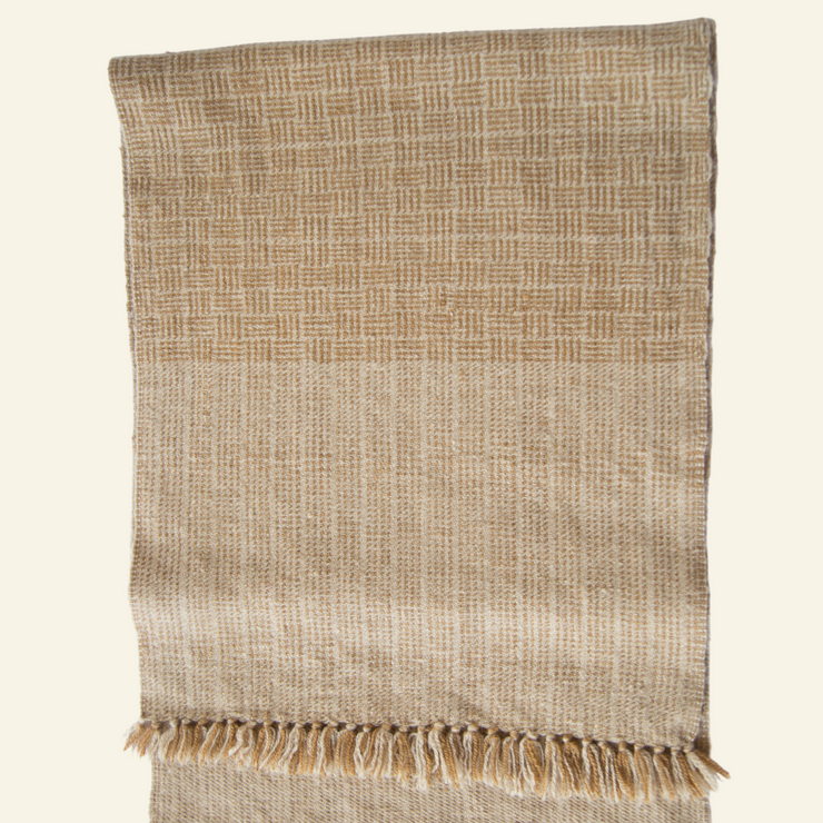 Walnut Brown Cashmere Scarf
