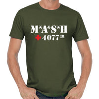 Mash M * A * S * H Inspiriert 4070th Us Army Fanshirt Fan Retro Serien Tv 70s T Shirt Tshirt Casual Man Tees