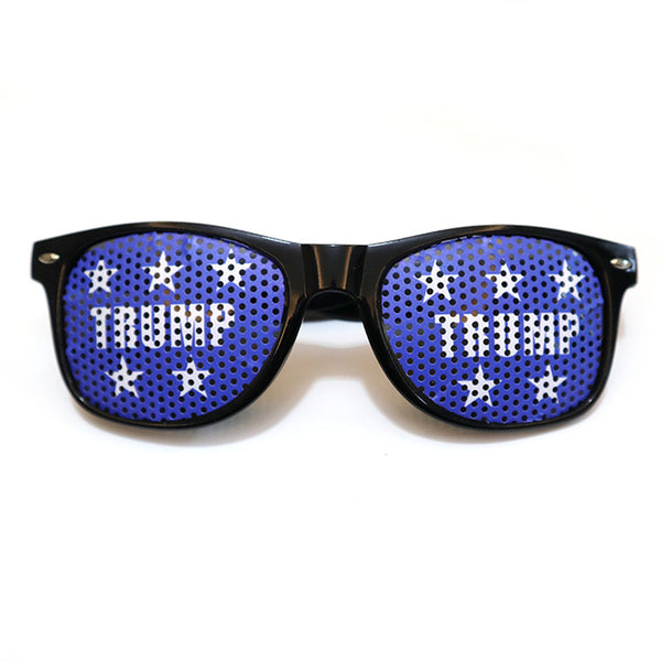 Trump 2020 Paster Sunglasses funny Fashion Creative Personality Supporters of President Trump's Campaign