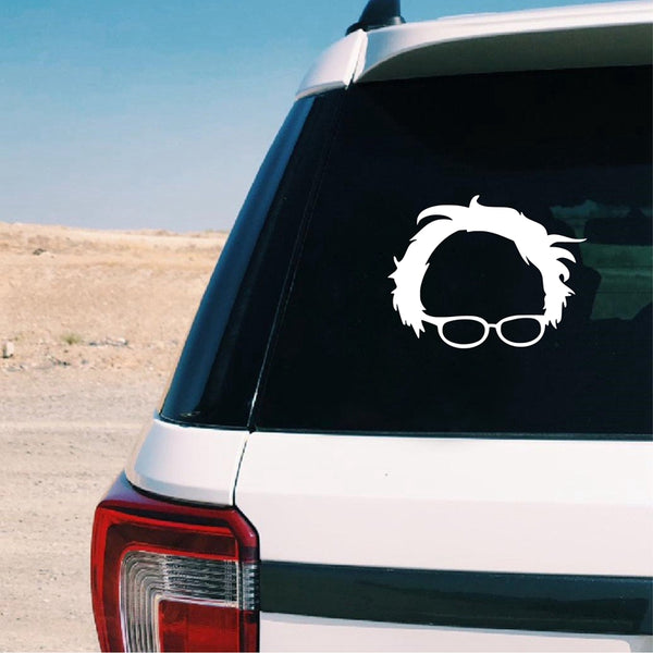 Bernie Sanders Vinyl Art Sticker Car Window Decor , Feel the burn Laptop Decal for Apple MacBook Pro / Air Decoration