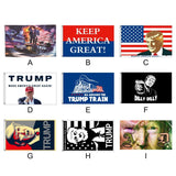 2020 American President Donald Trump Flag Election Flag Donald Trump Garden Banners Vivid Color For Fans Trump