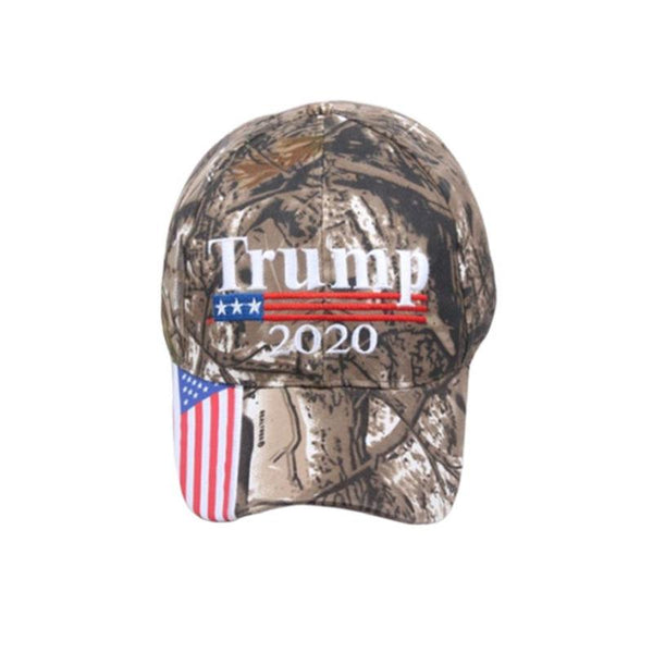 Donald Trump 2020 Cap Usa Flag Camouflage Baseball Realtree Hat Cap Make Keep America Great Snapback Embroidery President Hat