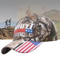 Hot Sale Trump Camouflage Baseball Custom Trump Hat Embroidery Printing Sports Outdoor Hats Baseball Cap Fashion Sports Hats