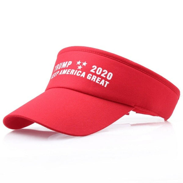 2019 Trump Summer Golf Tennis Sun Hat Donald Empty Top Baseball Cap Men Women Outdoor Sports Visor Hat Sunscreen Tennis Cap