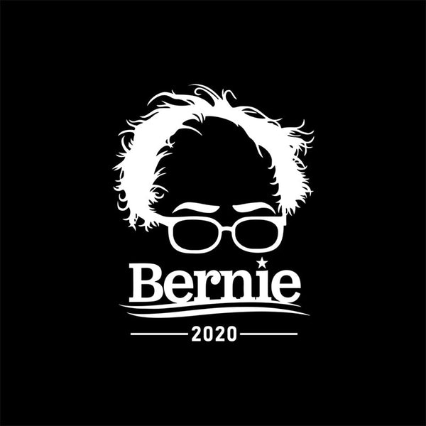 2 Pcs For Bernie Sanders 2020 Campaign Bumper Stickers Bernie Supporters Decorative Body removable  waterproof car sticker