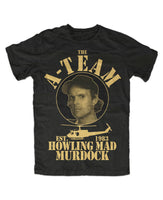 The A-Team Murdock Premium T-Shirt Fun TV Series Film Mr. T. Hannibal Murdock Face- show original title