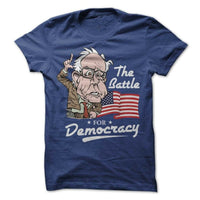 Bernie Sanders Political T-Shirt Tee President 2020 Election Campaign Democracy Homme Plus Size Tee Shirt