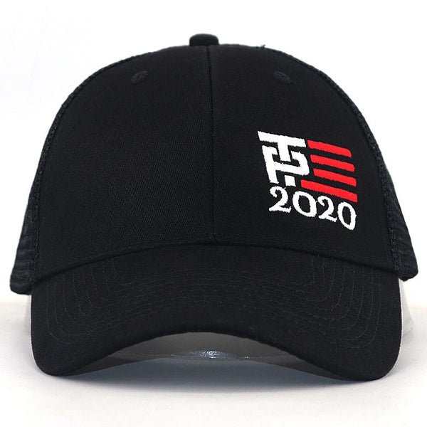 Trump president 2020 election mesh baseball cap cotton adjustable summer sports snapback hat Trump supporter caps wholesale